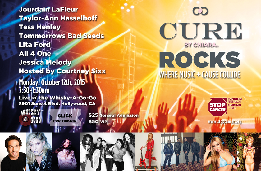 CURE ROCKS Benefit Concert