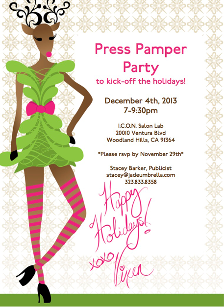 Press Pamper Party