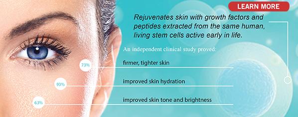 Lifeline Stem Cell Skin Care Flyer