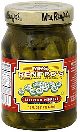Mrs. Renfro's Jalapeño Peppers