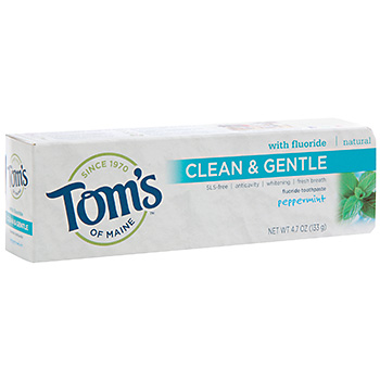 Tom's Clean & Gentle Toothpaste